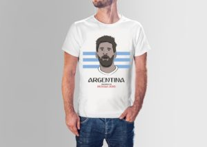 Aregentine World Cup Tee
