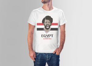 Mo Salah World Cup Tee