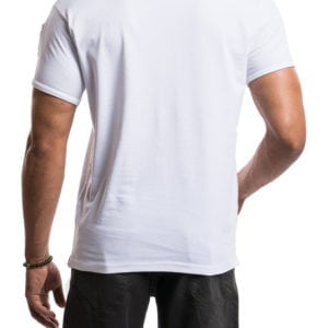 Short Sleeve Tee with Zipper