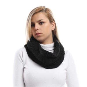 Knitted Tube Scarf