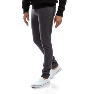 Grey Slim Fit Denim