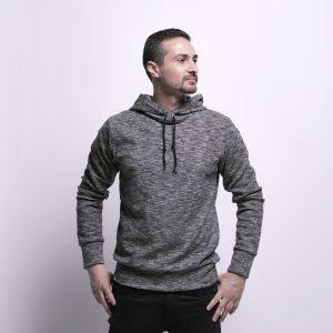 Texture Fabric Sweatshirt
