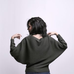 Pullover with Wide Sleeves
