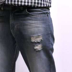 Blue Slim Fit Denim