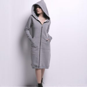 OverSized Long Melton Jacket