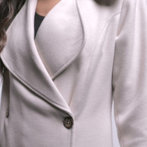 Long Jacket with Buttons
