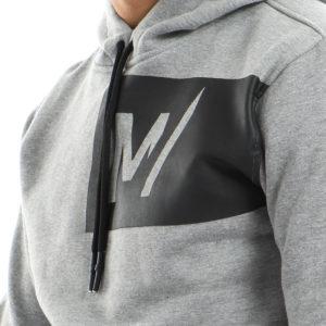 Sweatshirt with Hoodie & Merch Print