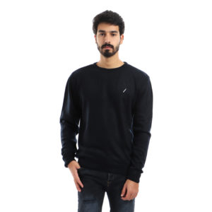Pullover with Crew Neck