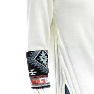 Pullover with Arms Patches