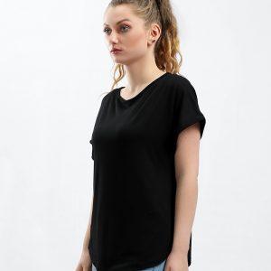 Slash Neck T-Shirt