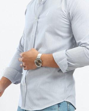 Long Sleeve Striped Shirt