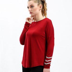 Strip On Sleeve T-Shirt