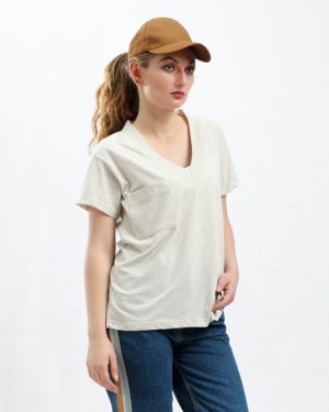 Side Tie T-Shirt