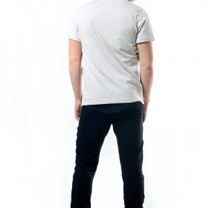 Sweat Pant With Side Buttons