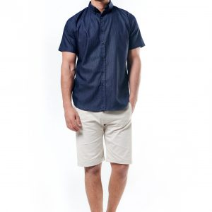 Short Sleeve Jeans Shirt