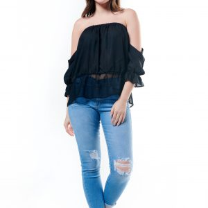 Off Shoulder Short Blouse