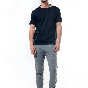 Side Zipper T-Shirt