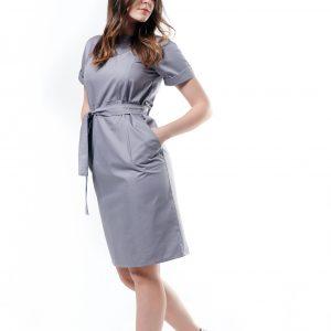 Bow Tie Midi Dress