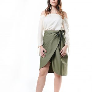 Wrap Short Skirt