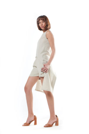 Linen Mini Short