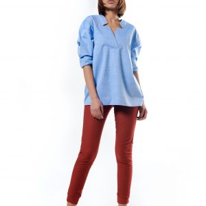 Star Neck Blouse