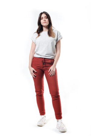 Tie Back Cropped T-Shirt