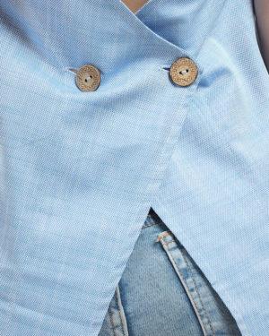 Buttoned Back Vest