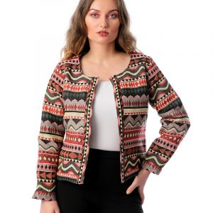 Bohemian Short Jacket