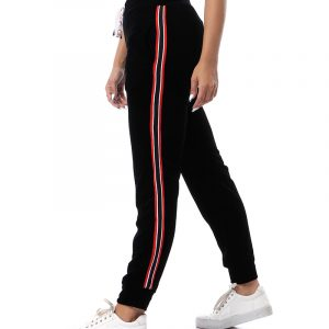 Sweatpants With Side Stripe - Women