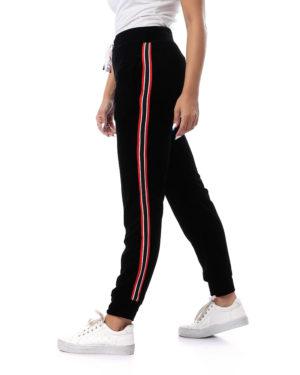 Sweatpants With Side Stripe - Women