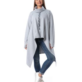 Tunic Top With Turtleneck