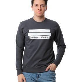 Printed Crew Sweatshirt