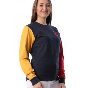 Colored Sleeves Sweatshirt