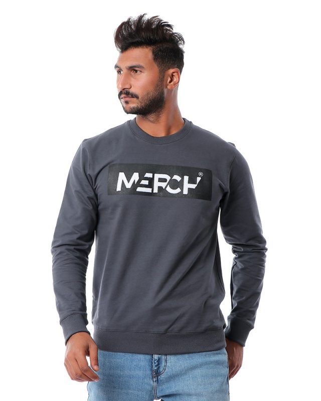 Merch Logo Crew Sweatshirt