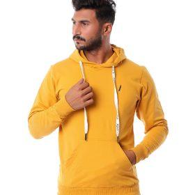 Basic Hooded Pockets Sweatshirt