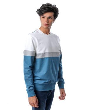 Crew Neck Colored Sweatshirt