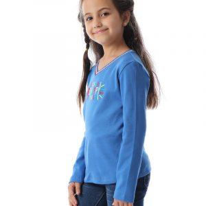 Embroidered Sweatshirt For Girls