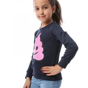 Ice-Cream Sweatshirt For Girls