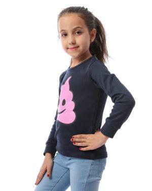 Ice-Cream Sweatshirt For Girls