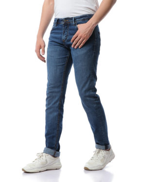 Men Fashionable Slim Jeans