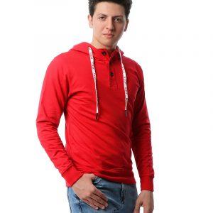 Short Placket Sweatshirts