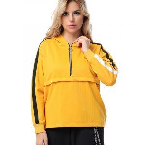 Hoodie Jacket With Zipper For Women
