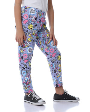 Printed Sweatpants For Girls