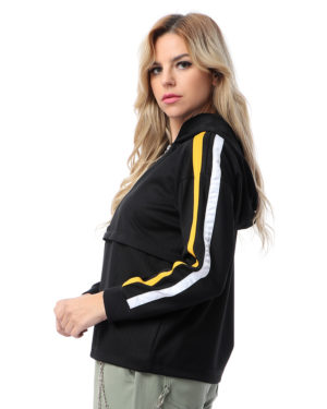 Hoodie Jacket With Zipper For Women