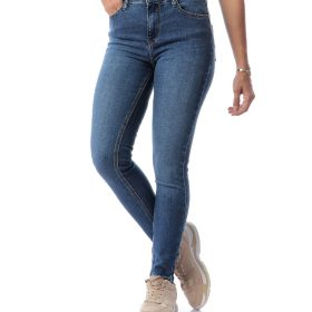 High-Waist Slim Jeans For Women
