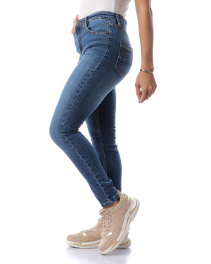 High-Waist Slim Jeans For Women