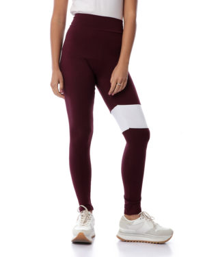 Legging With One Side Line