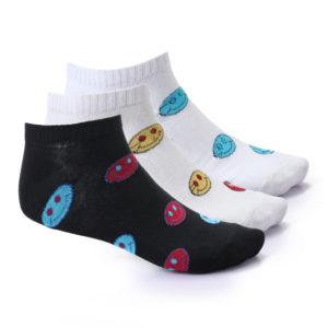 Short Socks For Women Set Of 3