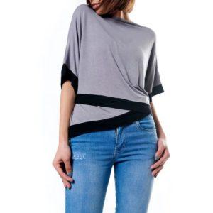 Trim Wrap T-Shirt - Free Size