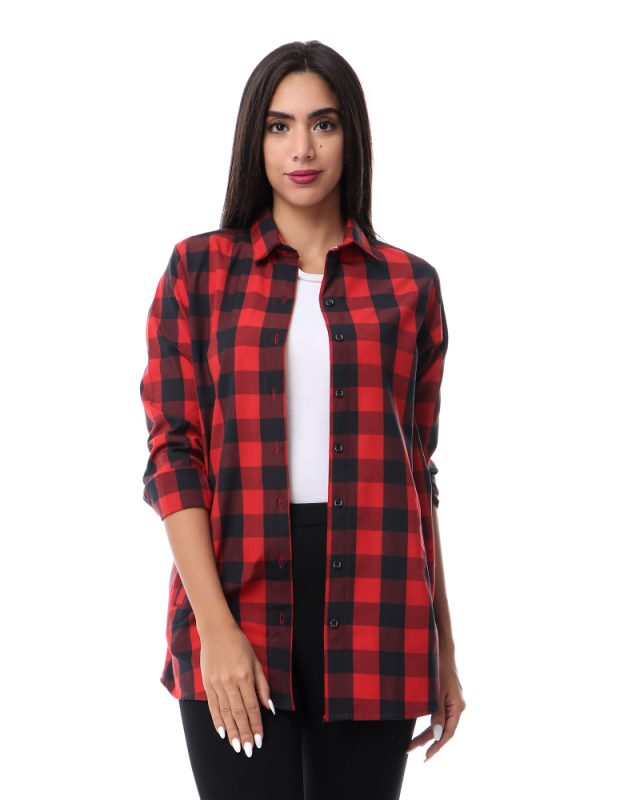 Long Sleeve Square Shirt For Women